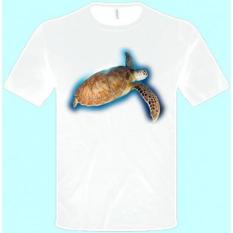 Tričká s potlačou zvierat - Korytnačka (pánske tričko)