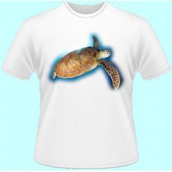 Tričká s potlačou zvierat - Korytnačka (dámske tričko)