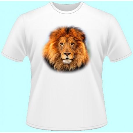 Tričká s potlačou zvierat - Lev (dámske tričko)