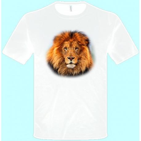 Tričká s potlačou zvierat - Lev (pánske tričko)