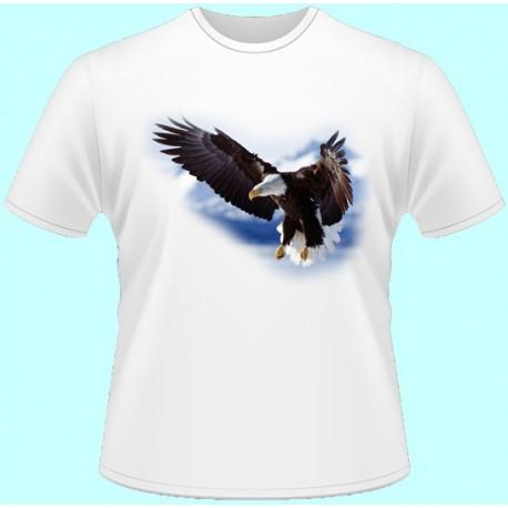 Tričká s potlačou zvierat - Orol (dámske tričko)