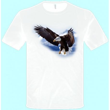 Tričká s potlačou zvierat - Orol (pánske tričko)