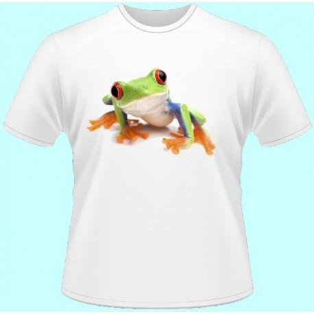 Tričká s potlačou zvierat - Žabka (dámske tričko)