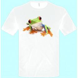 Tričká s potlačou zvierat - Žabka (pánske tričko)