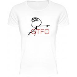 Tričká s nápismi - GTFO