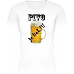 Tričká s nápismi - Pivo je liek !!!