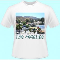 Tričká s potlačou - Los Angeles (dámske tričko)