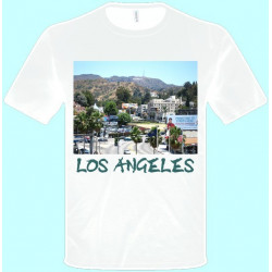 Tričká s potlačou - Los Angeles (pánske tričko)