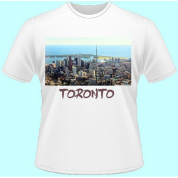 Tričká s potlačou - Toronto (dámske tričko)