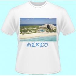 Tričká s potlačou - Mexiko (dámske tričko)