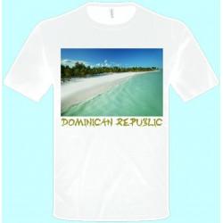 Tričká s potlačou - Dominikánska Republika (pánske tričko)