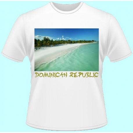 Tričká s potlačou - Dominikánska Republika (dámske tričko)