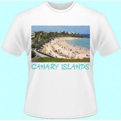 Tričká s potlačou - Kanárske Ostrovy (dámske tričko)
