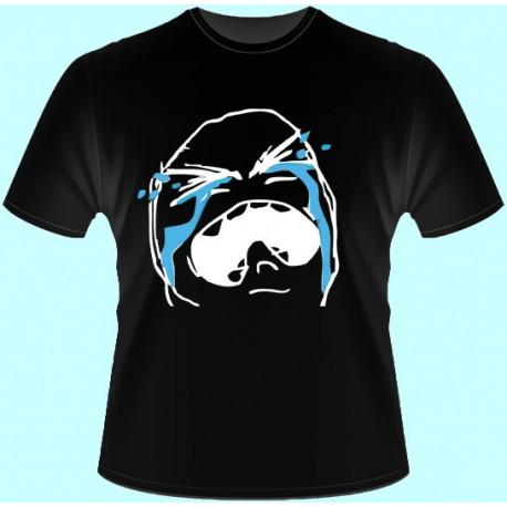 Vtipné tričká - Meme Cry (dámske tričko)