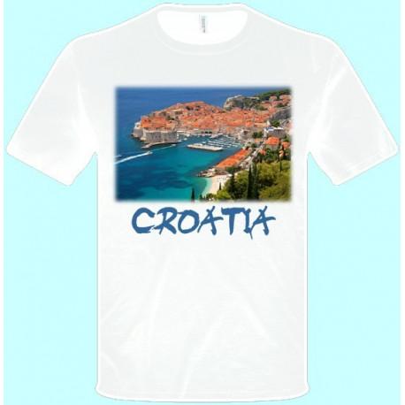Tričká s potlačou - Chorvátsko (pánske tričko)