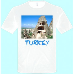 Tričká s potlačou - Turecko (pánske tričko)