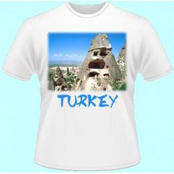 Tričká s potlačou - Turecko (dámske tričko)