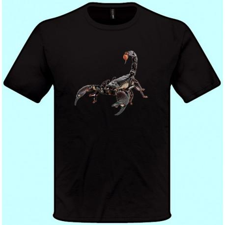 Tričká s potlačou zvierat - Škorpión (pánske tričko)