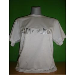 Tričká s nápismi - Žiadny silikón