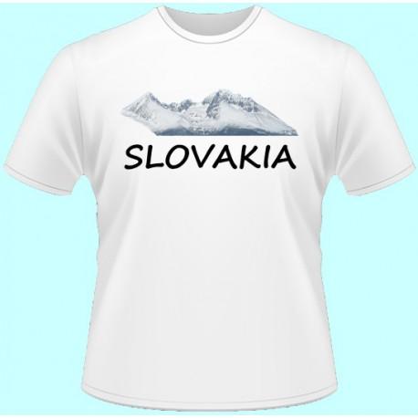 Tričká s potlačou - Slovakia (dámske tričko)