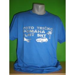 Tričká s nápismi - Toto tričko pomáha plniť sny