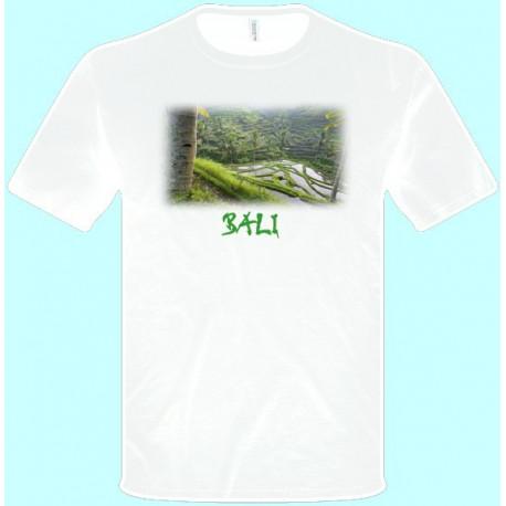 Tričká s potlačou - Bali (pánske tričko)
