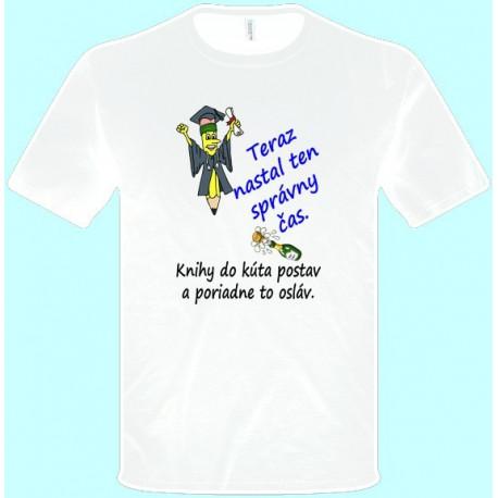 Tričká s potlačou - Promócie (pánske tričko)