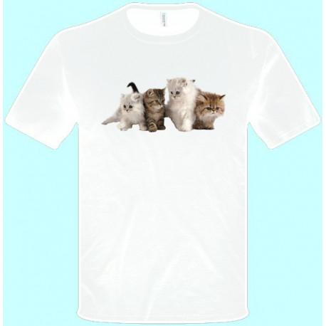 Tričká s potlačou zvierat - Mačky (pánske tričko)