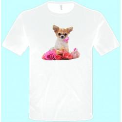 ed85a0a067a7 Tričká s potlačou zvierat - Čivava (pánske tričko)