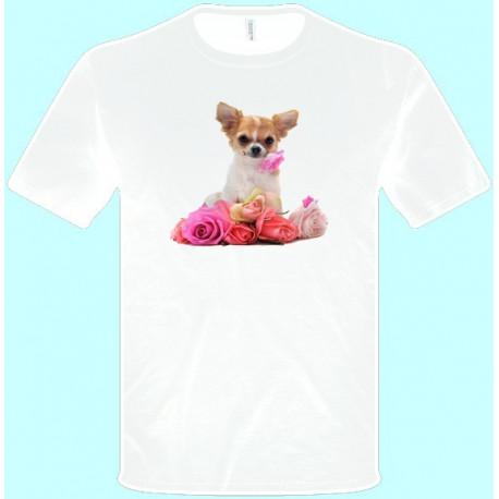 Tričká s potlačou zvierat - Čivava (pánske tričko)