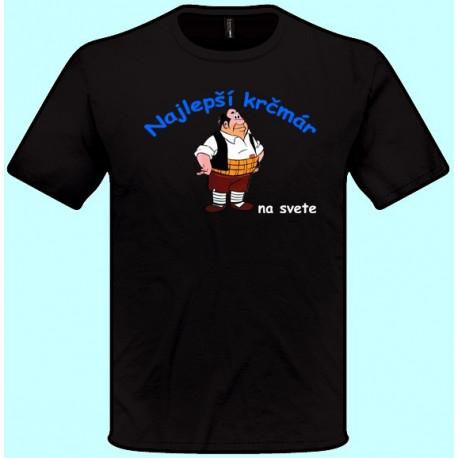 Tričká s potlačou - Najlepší krčmár (pánske tričko)