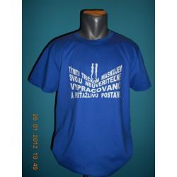Tričká s nápismi - Týmto tričkom maskujem svoju neuveriteľne vypracovanú a príťažlivú postavu