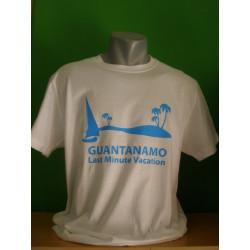 Tričká s nápismi - Guantanamo Last Minute Vacation