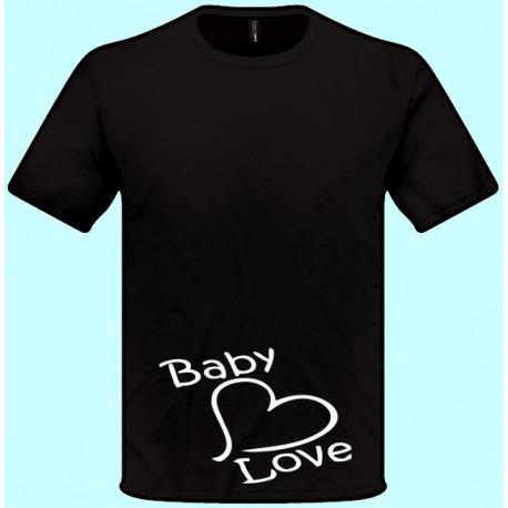 Tričká s potlačou - Baby Love (pánske tričko)