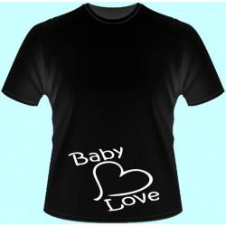 Tričká s potlačou - Baby Love (dámske tričko)