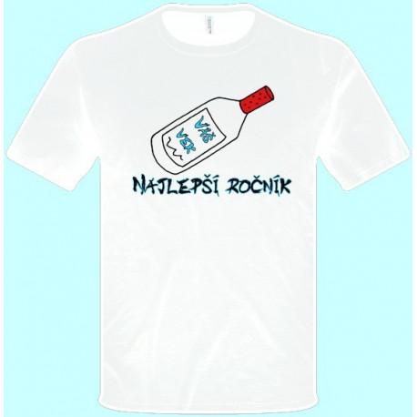 Tričká s potlačou - Najlepší ročník Váš vek (pánske tričko)