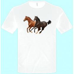 Tričká s potlačou zvierat - Kôň (pánske tričko)