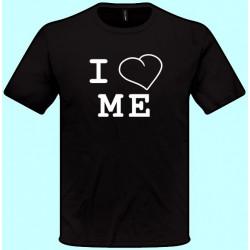 Tričká s potlačou - I love Me (pánske tričko)