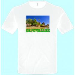 Tričká s potlačou - Seychely (pánske tričko)
