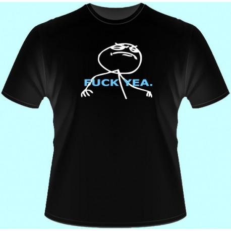 Vtipné tričká - Fuck Yea (dámske tričko)