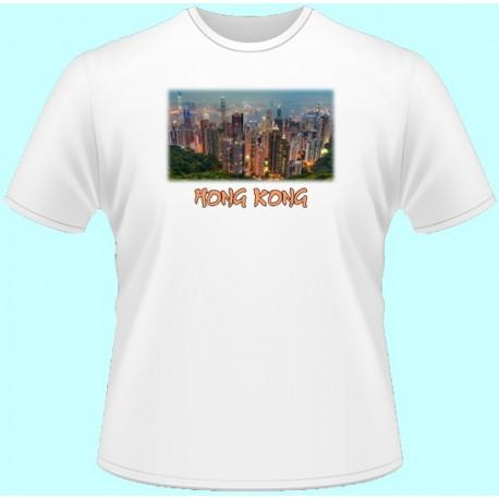 Tričká s potlačou - Hong Kong (dámske tričko)