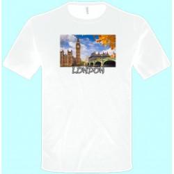 Tričká s potlačou - Londýn (pánske tričko)