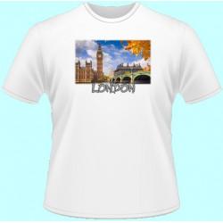 Tričká s potlačou - Londýn (dámske tričko)
