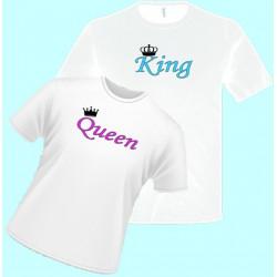 Tričká s potlačou - King (pánske tričko)