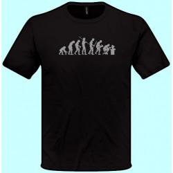 Tričká s potlačou - Evolúcia 1 (pánske tričko)
