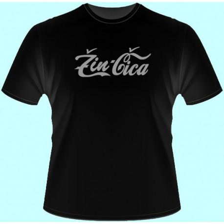 Tričká s potlačou - ŽinČica (dámske tričko)