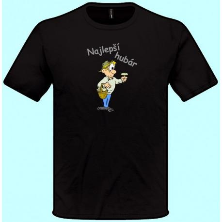 Tričká s potlačou - Najlepší hubár 2 (pánske tričko)