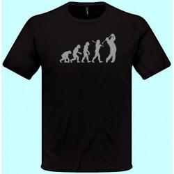 Tričká s potlačou - Evolúcia Golf (pánske tričko)