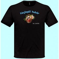 Tričká s potlačou - Najlepší hubár (pánske tričko)