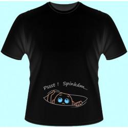 Tričká s potlačou - Spinkám (dámske tričko)